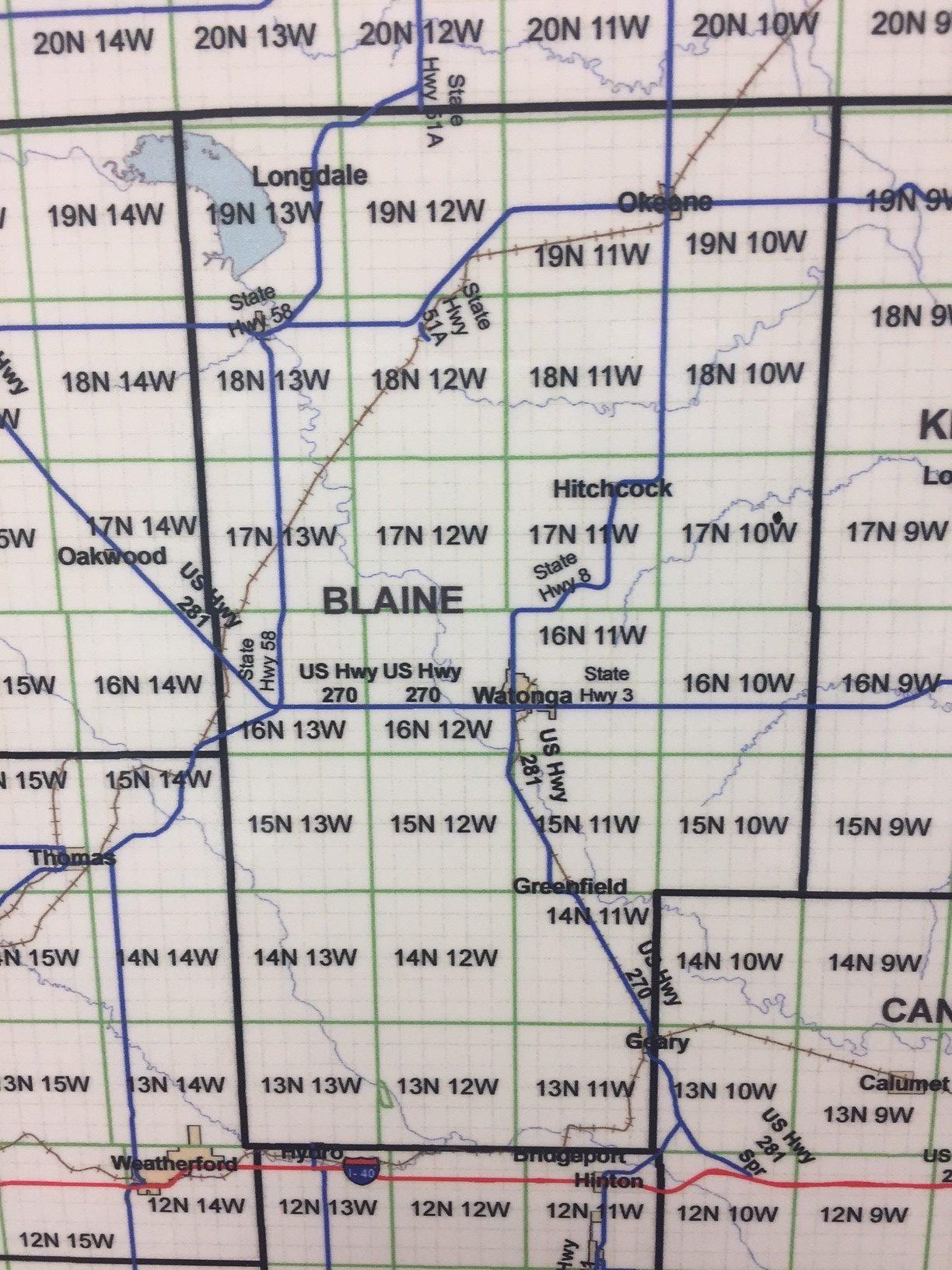 Blaine County Oklahoma Energy Today